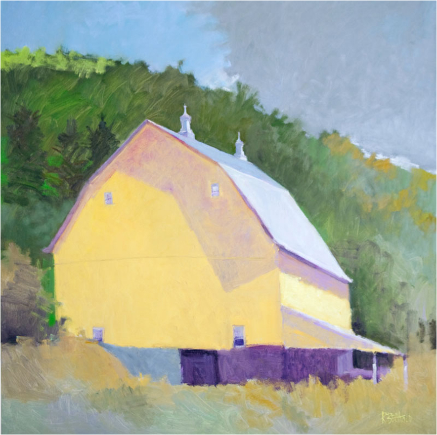 Driftless Valley Barn  60″ X 60″