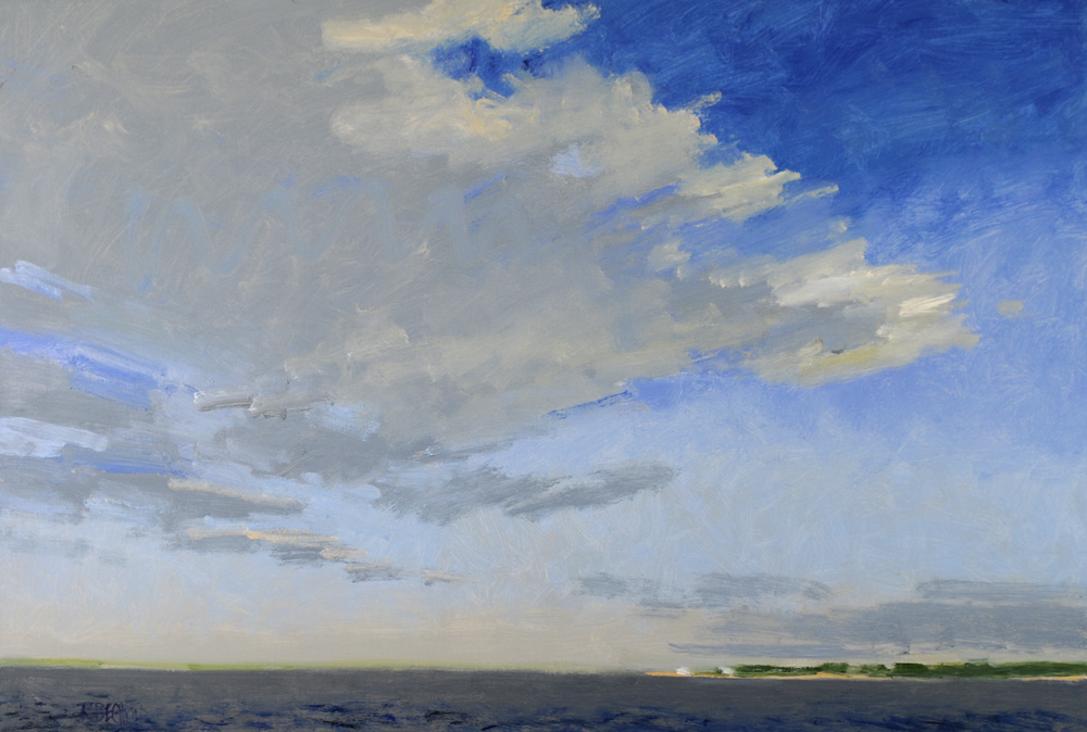 View From the Ferry – 30″ X 44″