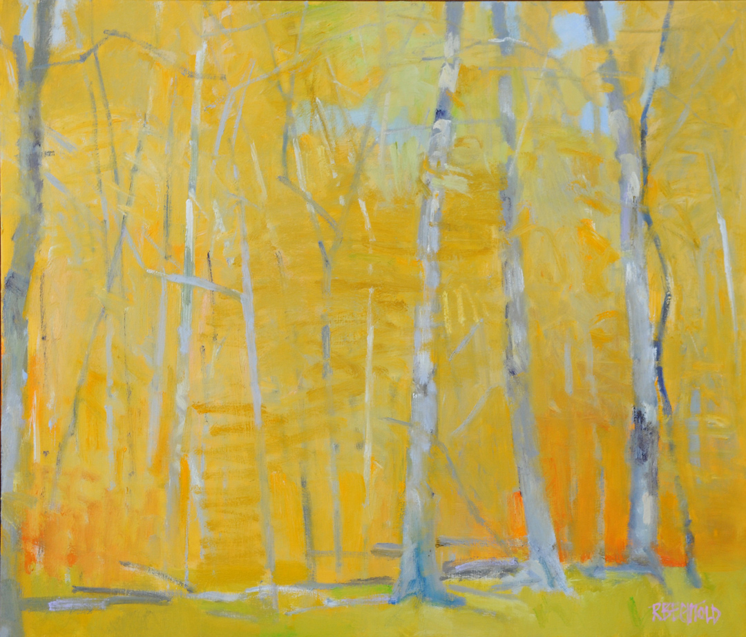 Yellow & Grey – 36″ X 42″